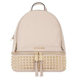 Rhea Studded Backpack Medium Pink