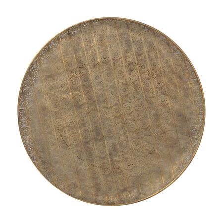 Antique Gold Filigree Wall Disc