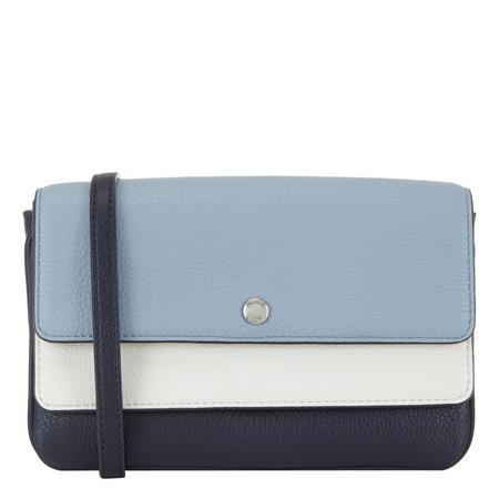 Colour Block Satchel Bag