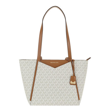 Whitney Small Logo Tote Bag