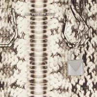 Mercer Medium Snake Embossed Crossbody Bag