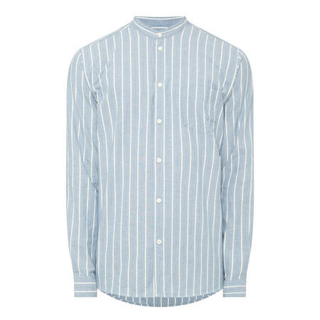 Liam Stripe Shirt Blue