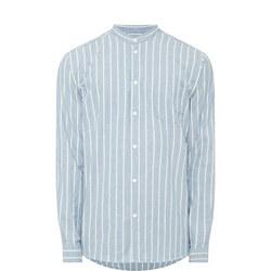 Liam Stripe Shirt Blue