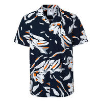 Einar Printed Short Sleeve Shirt Multicolour