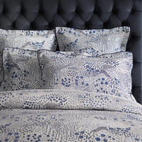 Leabrooke Duvet Cover Set Blue