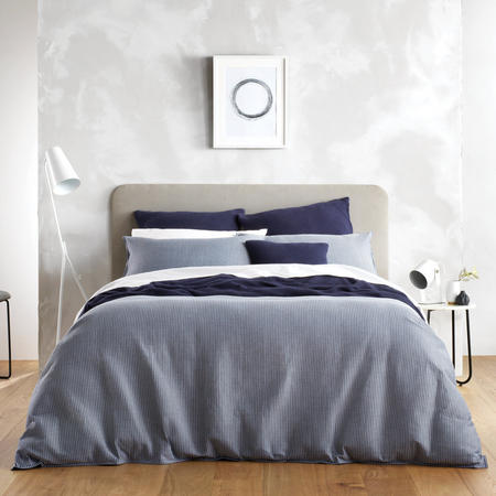 Abington Duvet Cover Set Blue