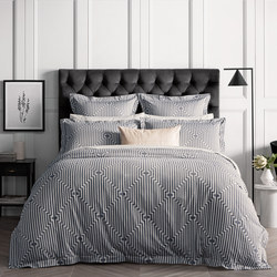 Dumond Duvet Cover Set Grey
