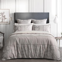 Angelis Duvet Cover Grey