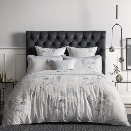 Eddings Duvet Cover Set Grey
