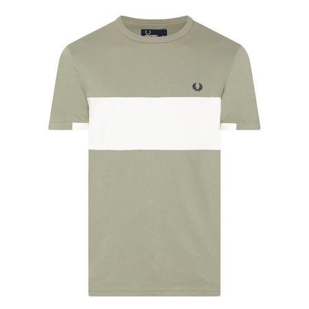Piqué Panel Polo Shirt