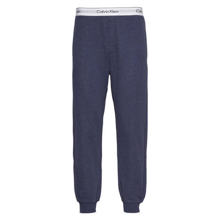 Cuffed Sweat Pants Blue