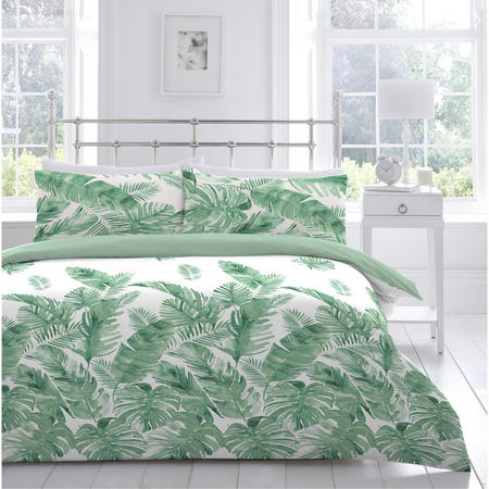 Tropical Leaves Duvet Set