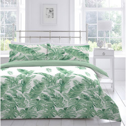 Tropical Leaves Duvet Set