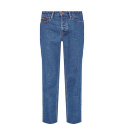 Izzy High-Rise Slim Jeans Blue