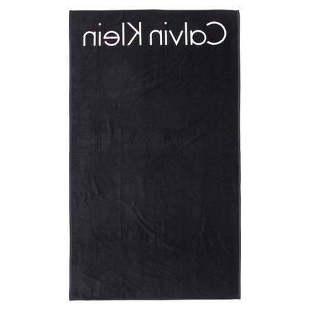Core Neo Logo Towel Black