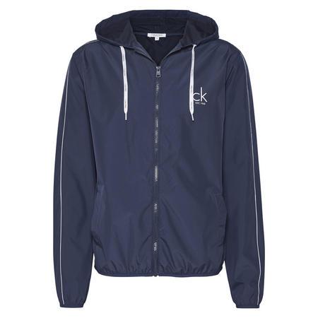 NYC Windbreaker Jacket Blue