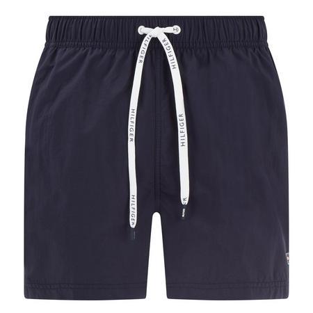 Logo Drawstring Swim Shorts Blue