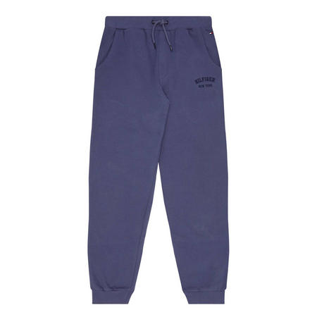 Tapered Sweat Pants Blue