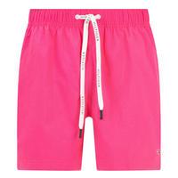 Logo Drawstring Swim Shorts Pink
