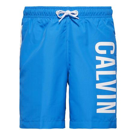 Boys Intense Power Logo Swim Shorts Blue