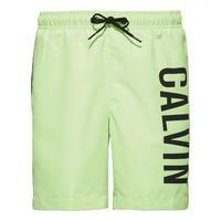 Boys Intense Power Logo Swim Shorts Green