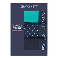 Three-Pack Cotton Stretch Boxer Trunks