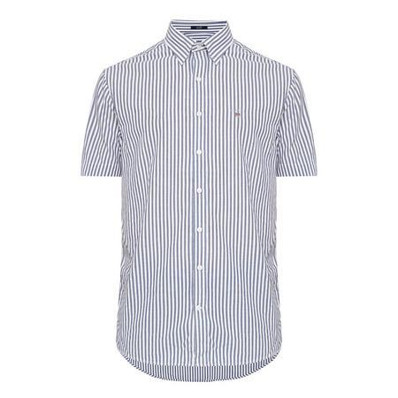 Seersucker Stripe Shirt