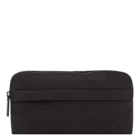 Logo Top Zip Bum Bag