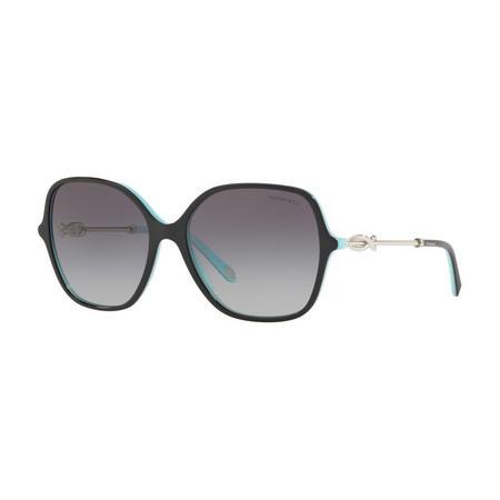 Tiffany Round Sunglasses 0TF4145B Black