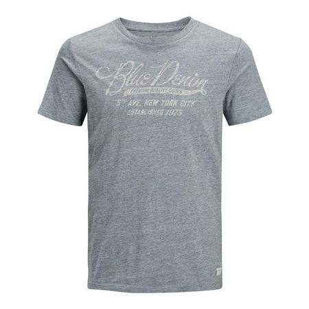 Patrick Marl Denim Logo T-Shirt
