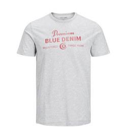 Joe Solid Denim Logo T-Shirt