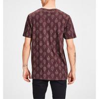 Darrick Leaf Print T-Shirt