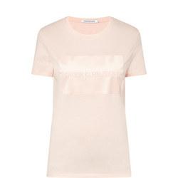 Satin Logo T-Shirt