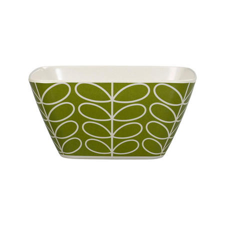 Bamboo Bowl Linear Stem Seagrass