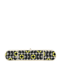 DOG Textured Square Flower Yellow