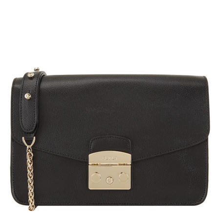 Metropolis Shoulder Bag Black