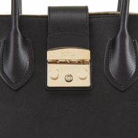Metropolis Tote Bag Black
