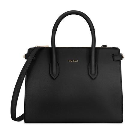 Pin East West Tote Bag Medium Black