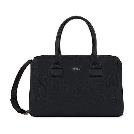 Capriccio Satchel Bag Black