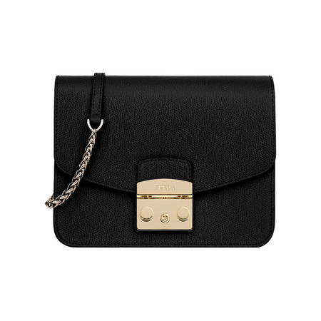 Metropolis Crossbody Bag Black