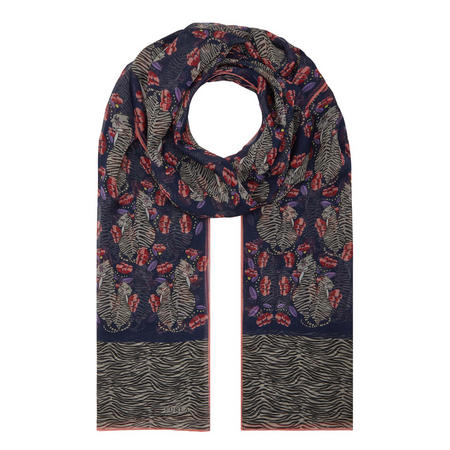 Floral Scarf Multicolour
