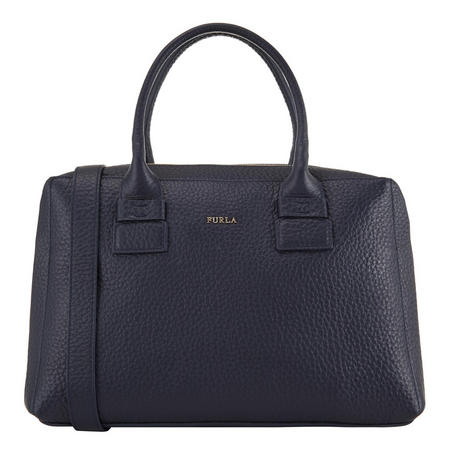 Capriccio Satchel Bag Navy