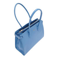 Pin East West Tote Bag Large Blue