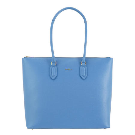 Pin Tote Bag Blue