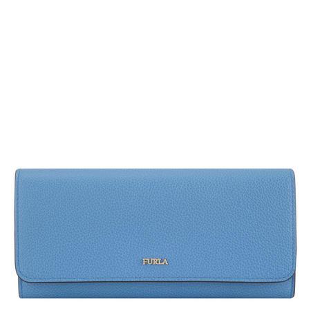 Babylon Flap Wallet Blue