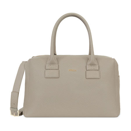 Capriccio Satchel Bag Grey