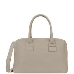 Capriccio Satchel Bag Grey