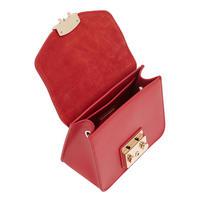 Metropolis Mini Crossbody Bag Red