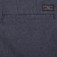 Shharval Textured Trousers Navy