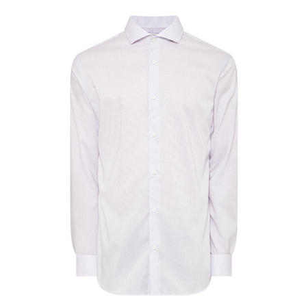 Dobby Formal Shirt White